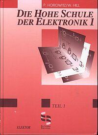 """Cover des Buches """"Hohe Schule der Elektronik"""""""