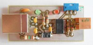 Platine USB-Seriell-Adapter